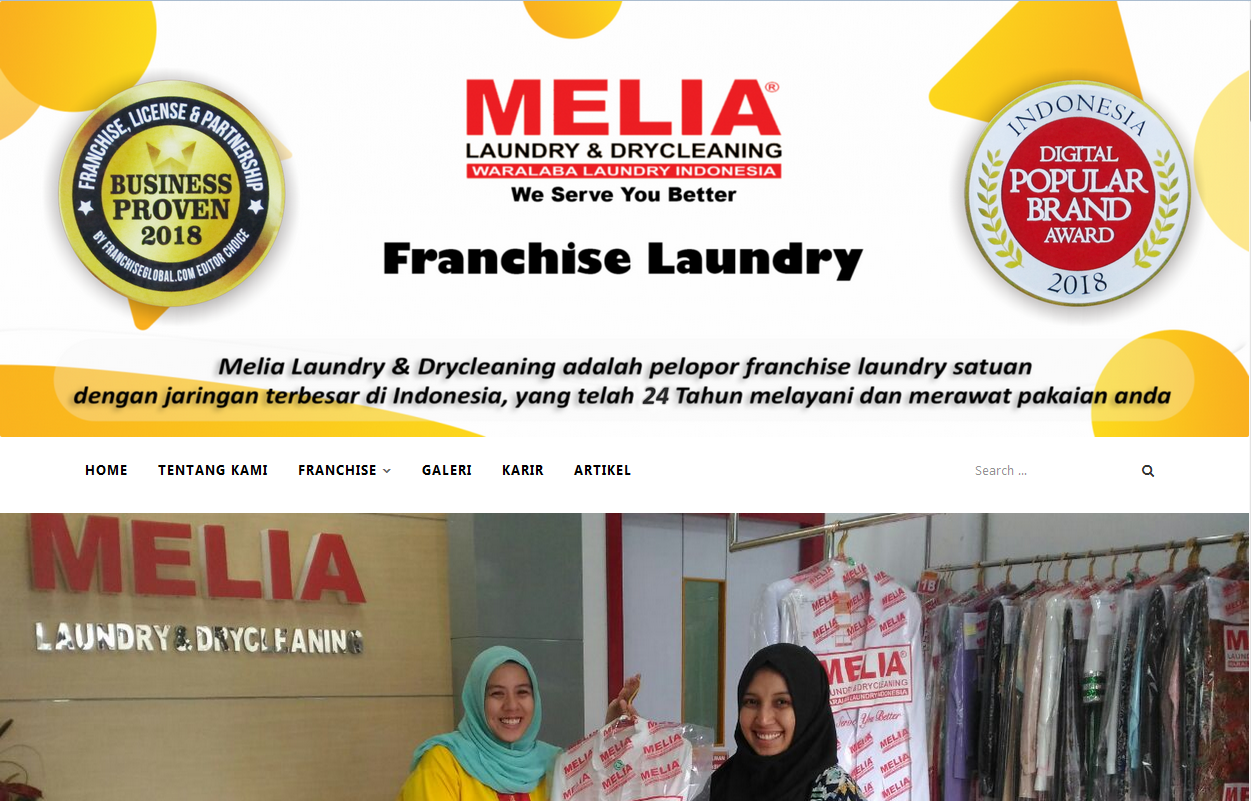 franchise laundry